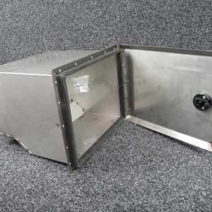 Defender 110 Rear Side Locker Post 2007 - Stainless Steel - PUMA Only Items-0