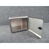 Defender 110 Rear Side Locker Pre 2007 - Stainless Steel-0