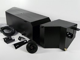 Defender 110 Td5 3 Door LHS Sill Fuel Tank - Stainless Steel-0