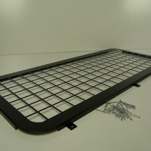 Defender Rear Side Window Grills - Black Steel-0
