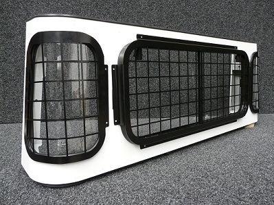 Defender Single & Double Cab Rear Window Set-0