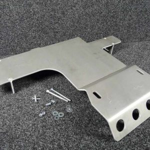 Defender Td5 Gearbox Guard - Aluminium-0