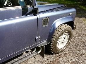 Dirt D-Fender Front Wheel - Rear Textured-0