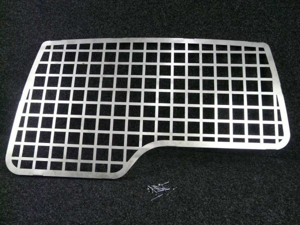 Discovery Rear Door Window Grill - Black Steel-0
