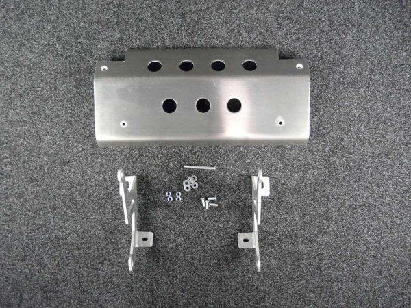 Discovery Steering Guard - 10mm Aluminium Alloy-0