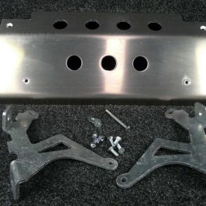 Discovery Steering Guard - 8mm Aluminium Alloy-0