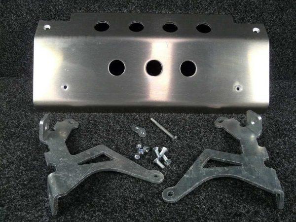 Discovery Steering Guard - 8mm Aluminium Alloy-0