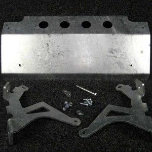 Discovery Steering Guard - Galvanised Steel-0