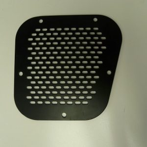 LHS Vent Cover Front Wing Side - Black-0