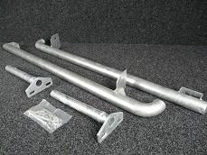 Rock Sliders - Tubular, Under Sill Defender 90-0